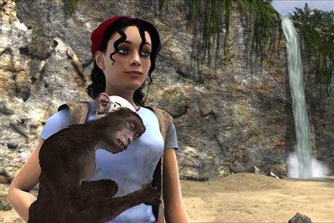 Awww, monkey hearts Mina