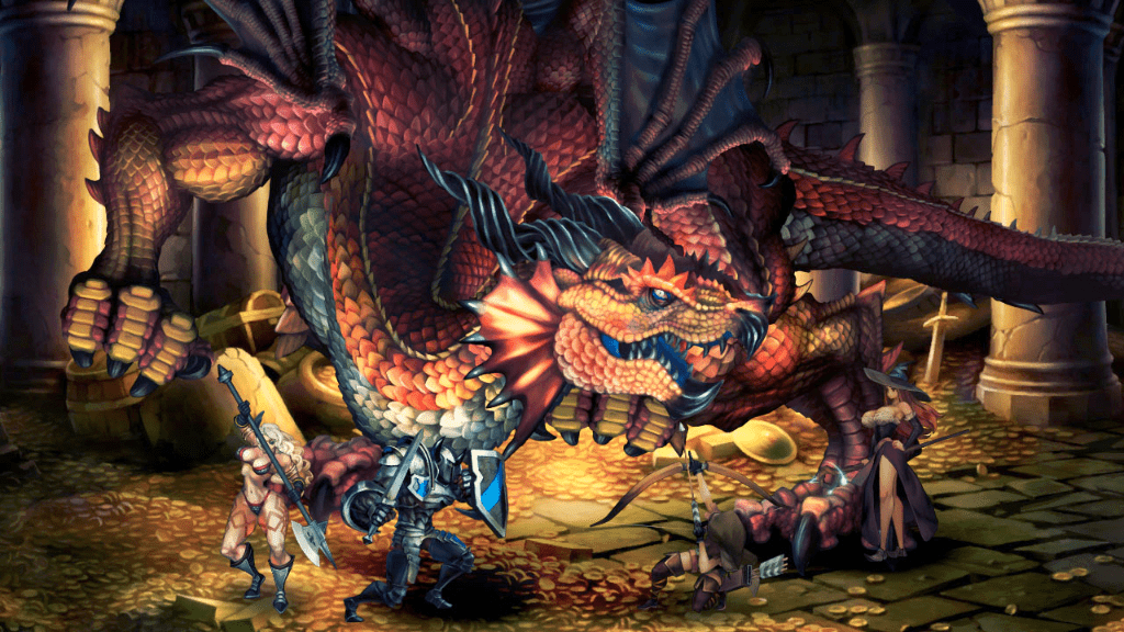 Review Dragon S Crown Tap Repeatedly