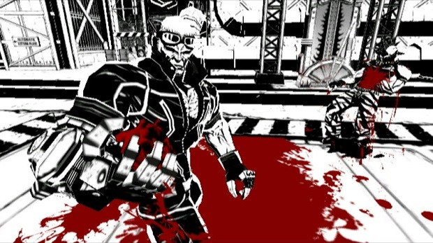 PlatinumGames MadWorld, one of several high-profile third party efforts that innovated in design but failed at retail.