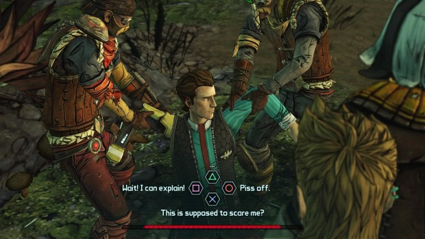 Don't worry, it still depends heavily on TellTale's brilliant dialogue branching.