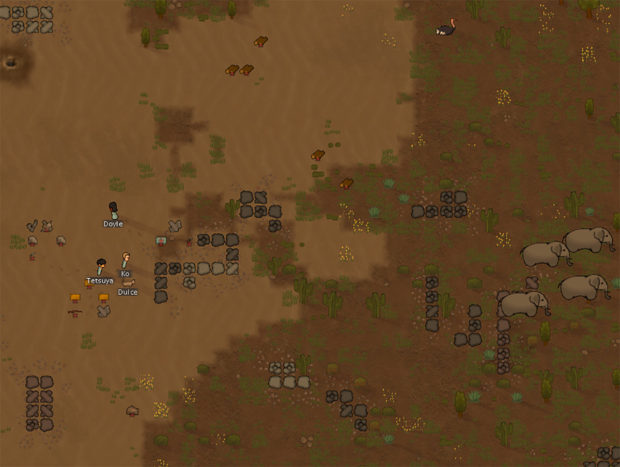 Elephants can be food... or pawn-pulpifiers. We'll assume the latter until we research rocket launchers.