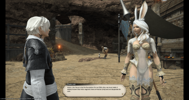 Thancred you're being boring right now stop being so boring