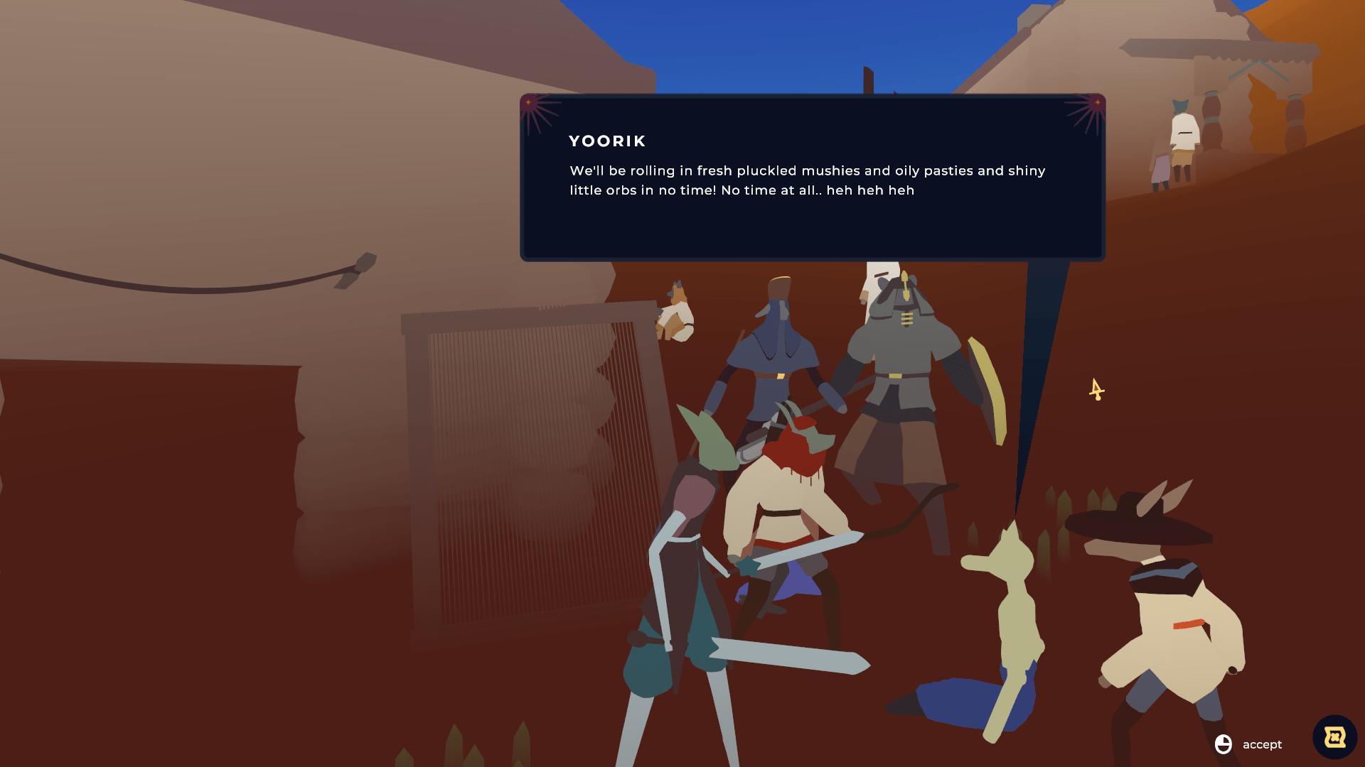 Amusing dialogue