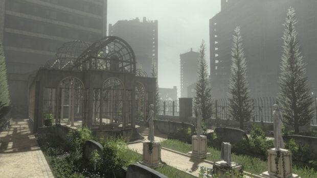 Nier screenshot - environment shot
