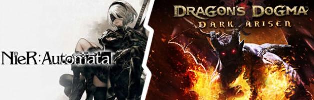 Nier:Automata (mostly) & Dragon's Dogma: Dark Arisen (sort of)